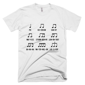 Sweets Rhythm Music T-Shirt