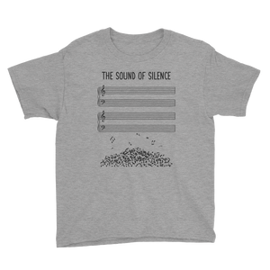 Sound of Silence Music Youth T-Shirt