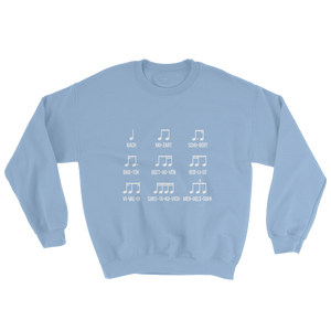 Composers Rhythm Music Sweatshirt