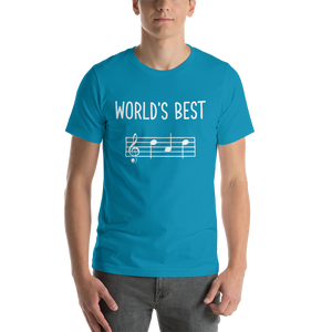 World's Best Dad Music Premium T-Shirt