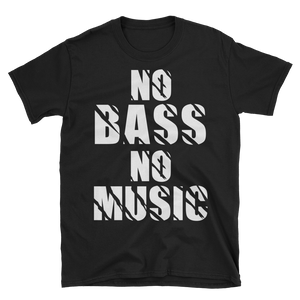 No Bass No Music T-Shirt
