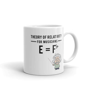 Theory of Relativity for Musicians Mug