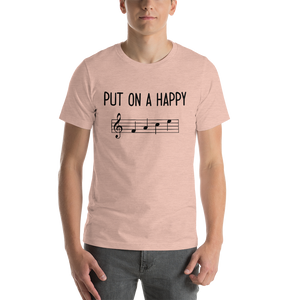 Put On A Happy FACE Music Premium T-Shirt