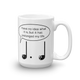 Prolonged Life Clever Music Note Mug