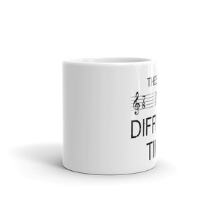 These Are Difficult Times Music Mug