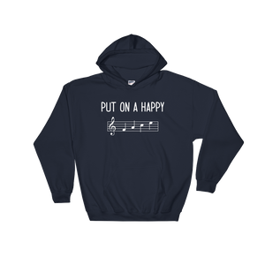 Put On A Happy FACE Music Hoodie