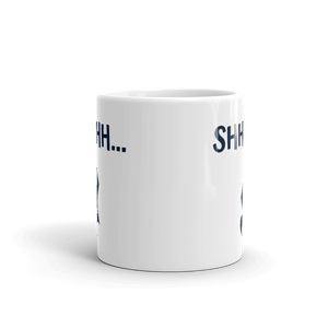 Shhhh Quarter Rest Music Mug