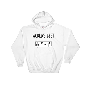 World's Best Dad Music Hoodie