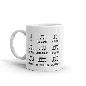 Sweets Rhythm Music Mug
