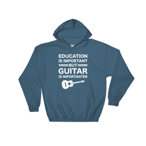 Education Guitar Funny Music Hoodie