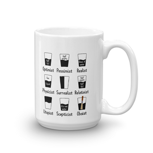 Oboist Perception Glasses Music Mug