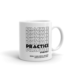 Practice Everyday Music Mug