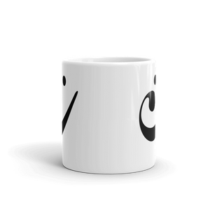 Happy Bass Clef Smiley Mug