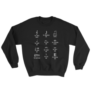 Musical Personalities Sweatshirt