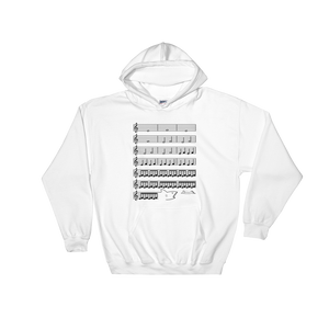 Jaws Music Treble Clef Funny Hoodie