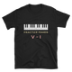 Practice Makes Perfect Piano T-Shirt