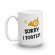 Sorry I Tooted! - French Horn Mug
