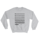 Jaws Music Bass Clef Funny Sweatshirt