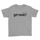 Got Music Smiley Youth T-Shirt