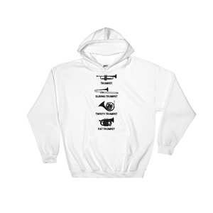 Trumpet Types Funny Music Hoodie