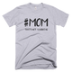 Sharp Mom Not A Hashtag T-Shirt