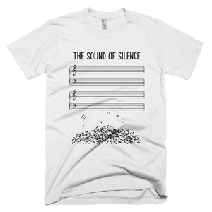 Sound of Silence Music T-Shirt