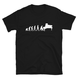 Evolution Pianist Piano T-Shirt