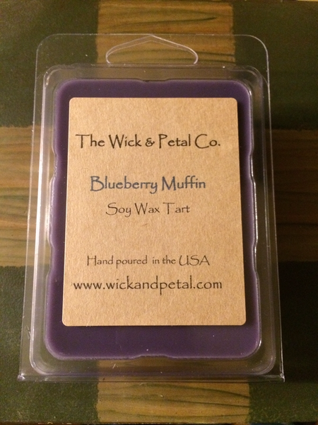 Blueberry Muffin Soy Wax Tart