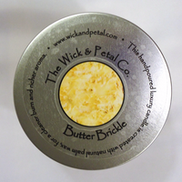 Butter Brickle 14 oz Scented Palm Wax Candle