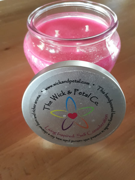 Living Inspired Self Consideration 14 oz Scented Palm Wax Candle