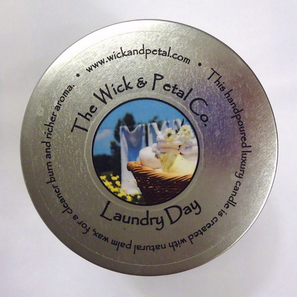 Laundry Day 14 oz Scented Palm Wax Candle