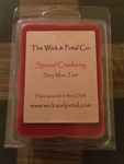 Spiced Cranberry Soy Wax Tart