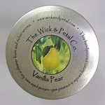 Vanilla Pear 14 oz Scented Palm Wax Candle