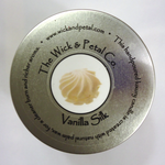 Vanilla Silk 14 oz Scented Palm Wax Candle