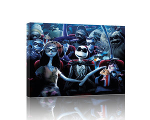 The Nightmare Before Christmas Giclée Canvas Wall Art