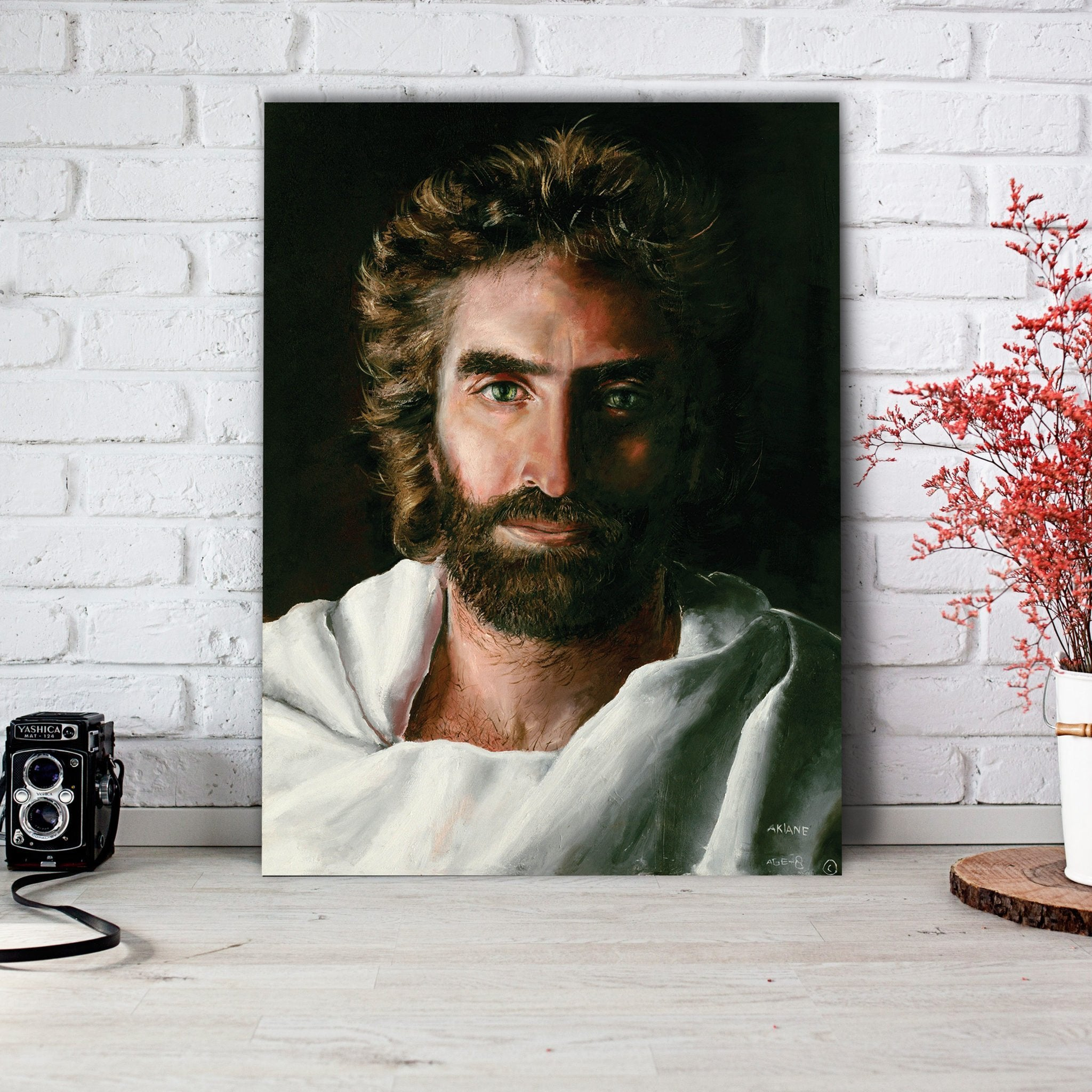 Religious Jesus Prince Of Peace  Canvas Print Art religious art god art jesus art