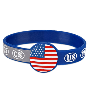 Civil War Silicone Bracelet