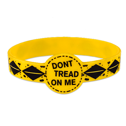 Don't Tread On Me Silicone Bracelet BL-001-004