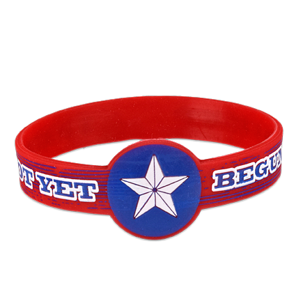 Begun To Fight Silicone Bracelet  BL-001-005