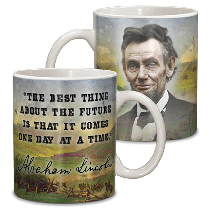 Abraham Lincoln 11 oz Ceramic Mug CG-001-013