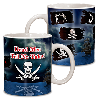 Pirate Ceramic Mug