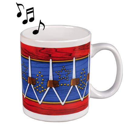 Fife and Drum Musical Mug