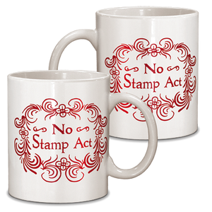 No Stamp Act Ceramic Mug