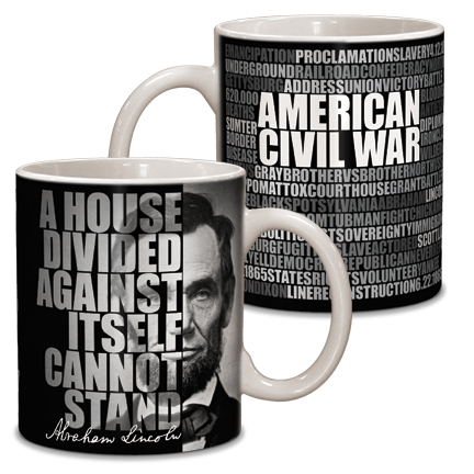 Abraham Lincoln Graphic Ceramic Mug