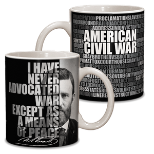 Ulysses S. Grant Graphic Ceramic Mug