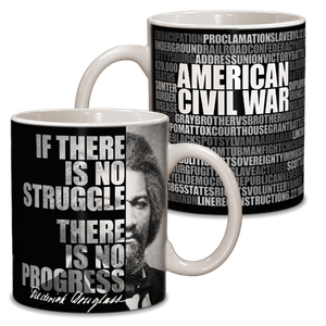 Frederick Douglass Graphic Ceramic Mug