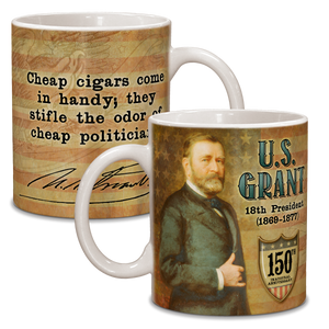 Grant 150th Anniversary Ceramic 11oz Mug CG-001-033