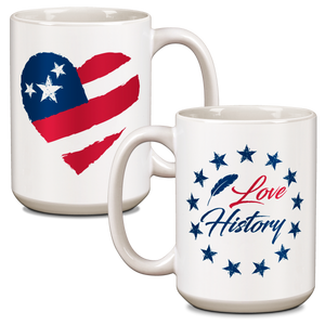 I Love History! Ceramic 15oz Mug  CG-001-034