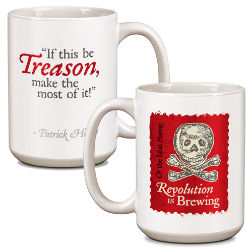 Revolution is Brewing Ceramic 15oz Mug CG-001-035