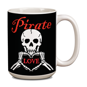 Pirate Love Ceramic 15oz Mug  CG-001-037